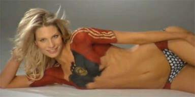 Sexy Sarah: Bikini-Shooting ohne Bikini