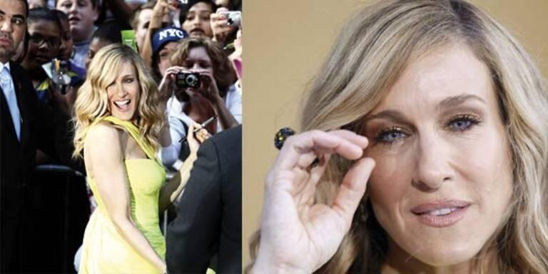 Sarah Jessica Parker kaut Fingernägel vor Aufregung