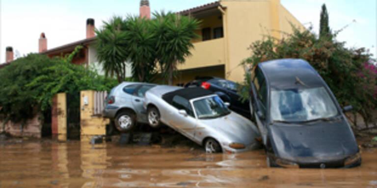 Unwetter töten drei Menschen auf Sardinien