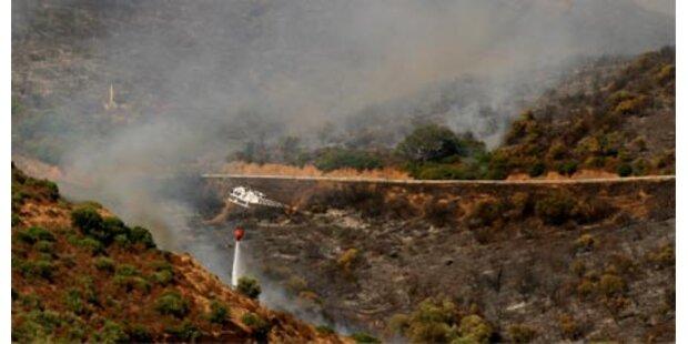 Waldbrände auf Sardinien waren gelegt