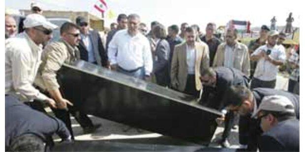 Israel und Hisbollah tauschten Gefangene aus