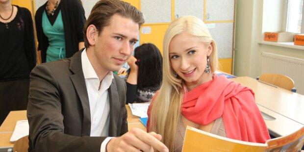 Sarkissova: Jetzt tanzt sie für Kurz