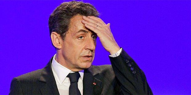 Peinliche Tonbänder brüskieren Sarkozy