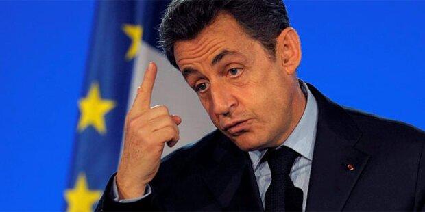 Sarkozy warnt vor Militärschlag gegen Iran