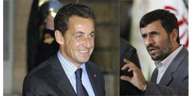 Ahmadinejad findet Sarkozy