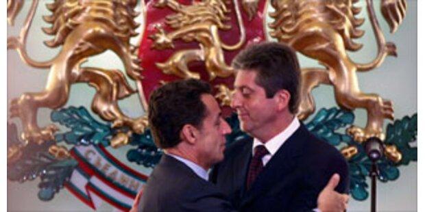 Sarkozy erhält höchsten bulgarischen Orden