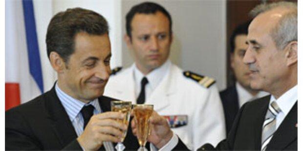 Sarkozy ruft Libanesen zur Eintracht auf