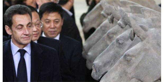Sarkozy zu Besuch in China