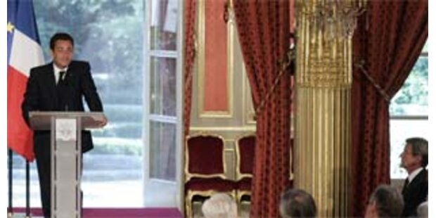Sarkozy fordert von USA Zeitplan für Irak-Abzug