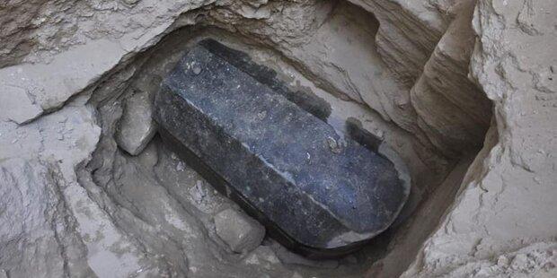 Rätsel um geheimnisvollen schwarzen Sarkophag gelöst