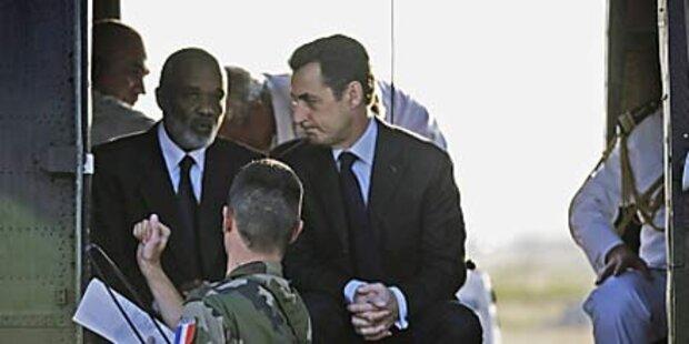 Sarkozy verspricht Haiti 326 Mio. Euro