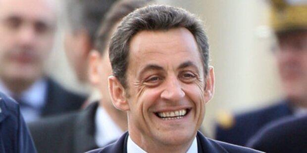 Frankreichs Sarkozy wird zur Witzfigur