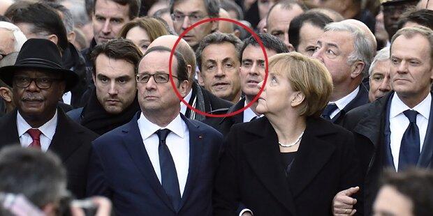 Internet spottet über Sarkozy
