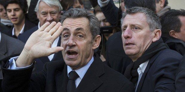 Ex-Präsident Sarkozy wieder Parteichef