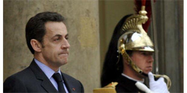 Sarkozy schließt Olympia-Boykott nicht aus