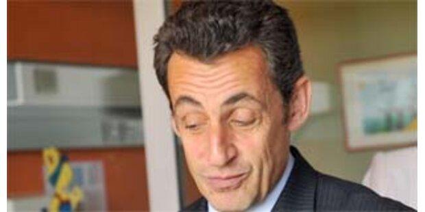 Frankreichs Präsident Sarkozy findet sich super