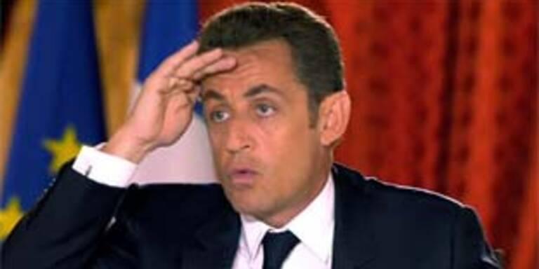 Sarkozy im Fernsehinterview am Donnerstag