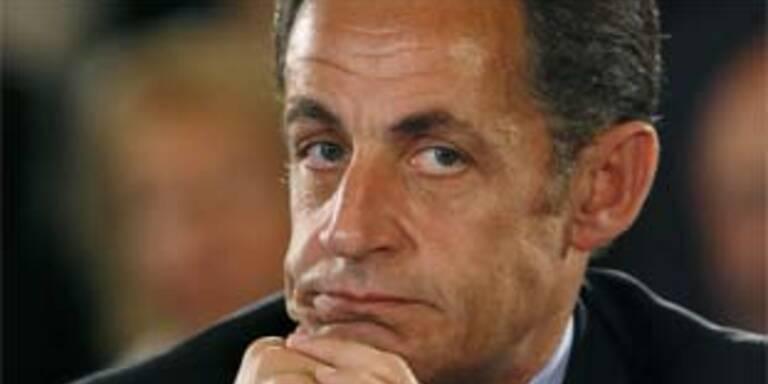 """Keine Party für """"einjähriges"""" von Sarkozy"""