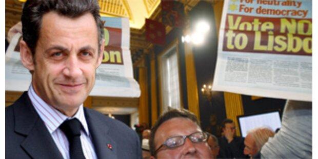 Sarkozy fordert zweites EU-Referendum der Iren
