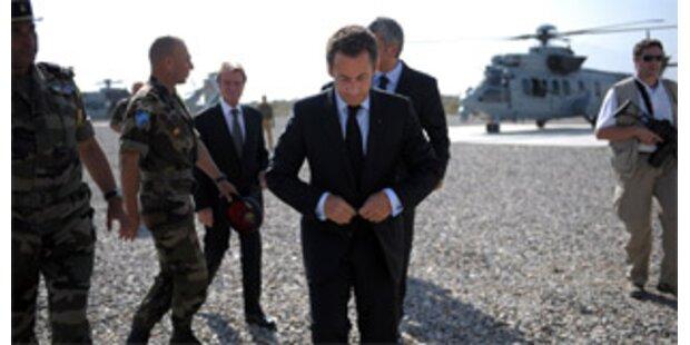 Sarkozy: EU-Sondergipfel für 1. September