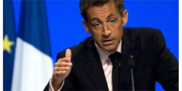 Sarkozy wird zum besten Staatsmann 2008 gekürt