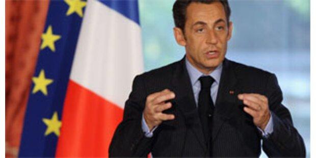 Sarkozy fordert