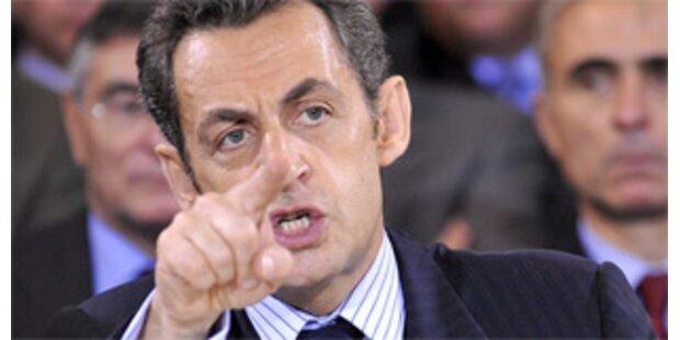 Arbeitsloser wegen Beleidigung Sarkozys verurteilt