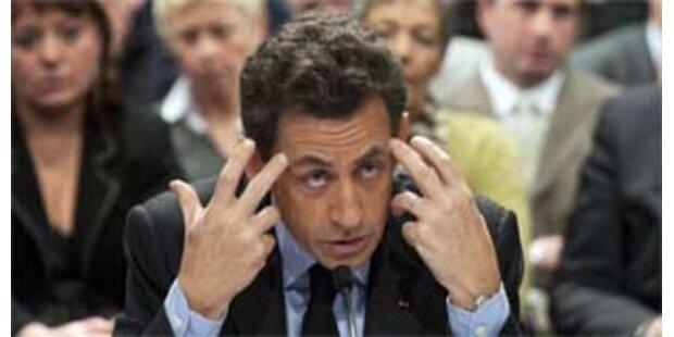 Eklat um Sarkozys Parlamentsreform