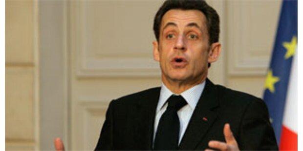 Sarkozy überraschend im Irak