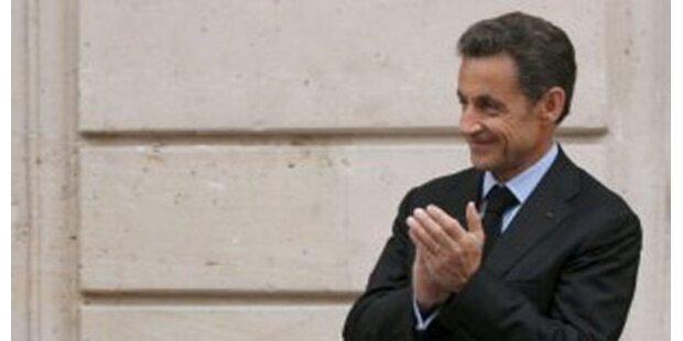 Franzosen von Sarkozy