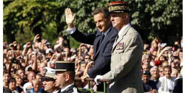 Sarkozy will Frankreich aufrüsten