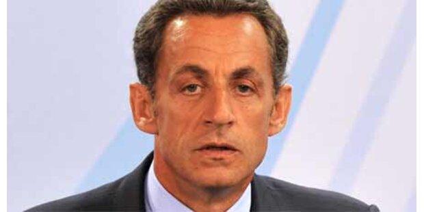 Sarkozy bedroht - 11 Personen verhaftet