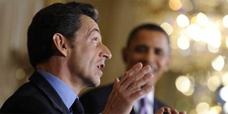 """Spott über """"Englisch"""" auf Sarkozys Website"""