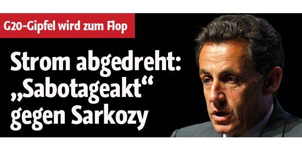 Sarkozy bei G20-Gipfel