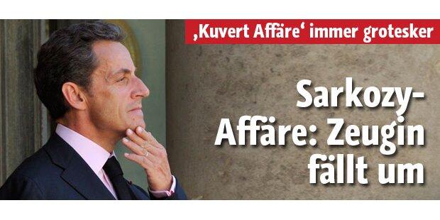 Sarkozy in Schwarzgeldaffäre entlastet