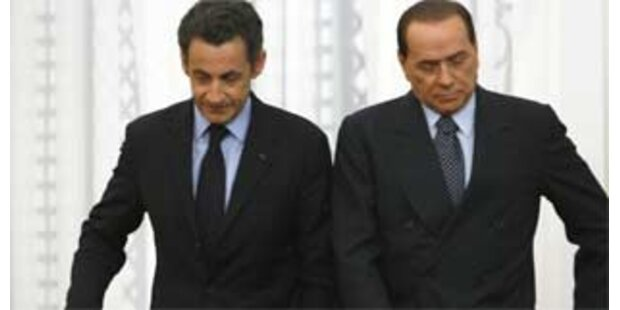 Berlusconi lässt vier AKWs bauen