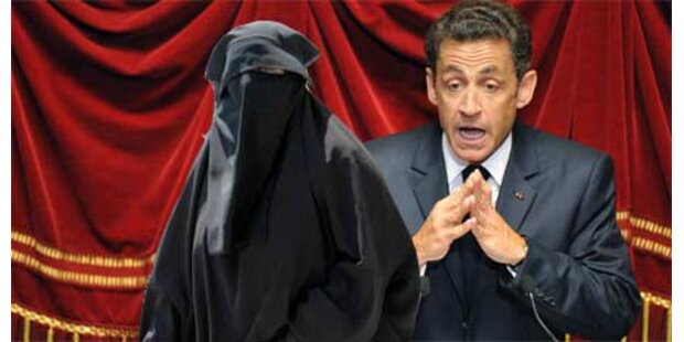 Sarkozy mag keine Burkas in Frankreich