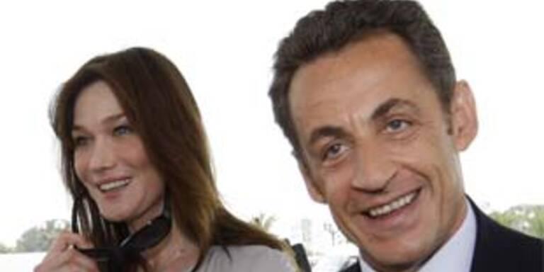 Französischer Präsident Sarkozy am 30. Mai in Wien
