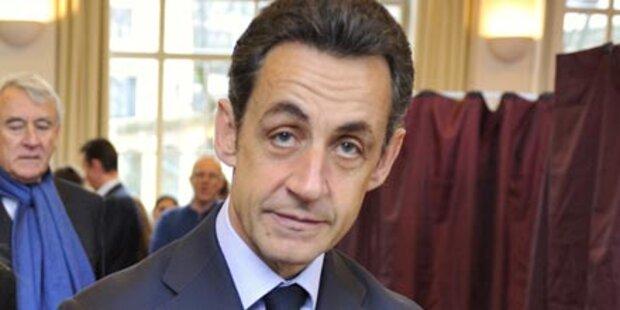 Franzosen strafen Präsident Sarkozy ab