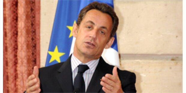 Sarkozy bietet Iren Kompromiss zu EU-Vertrag