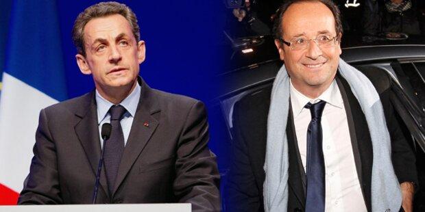 Wahl-Countdown in Frankreich