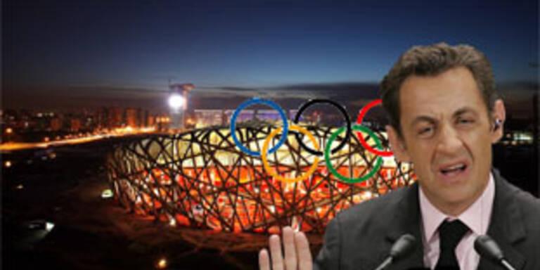 Paris rudert bei Olympia-Bedingungen zurück