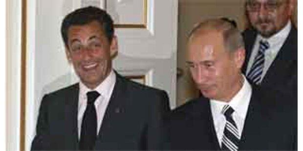 Annäherung in Iran-Politik bei Sarkozy und Putin