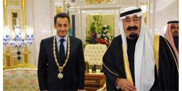 Sarkozy geht leer in Saudi-Arabien aus