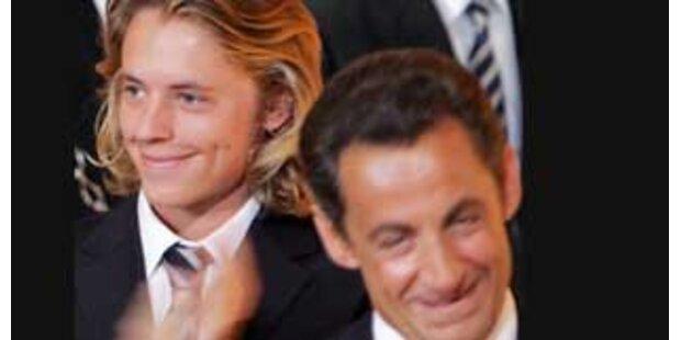 Sarkozys Sohn produziert Hass-Song gegen Vater