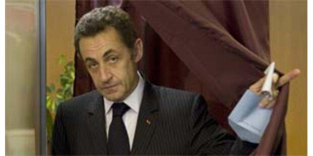 Bittere Niederlagen für Sarkozy