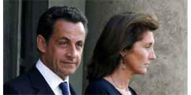 Präsidentenpaar Sarkozy vor Trennung?