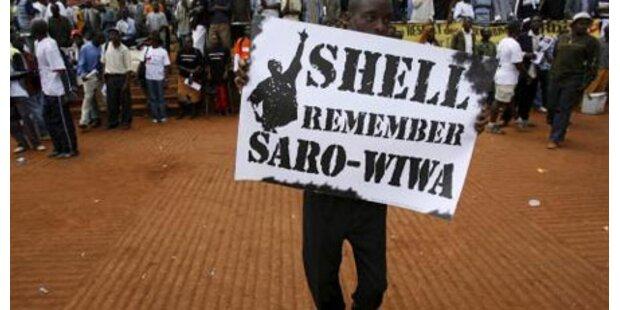 Shell wegen Hinrichtung geklagt