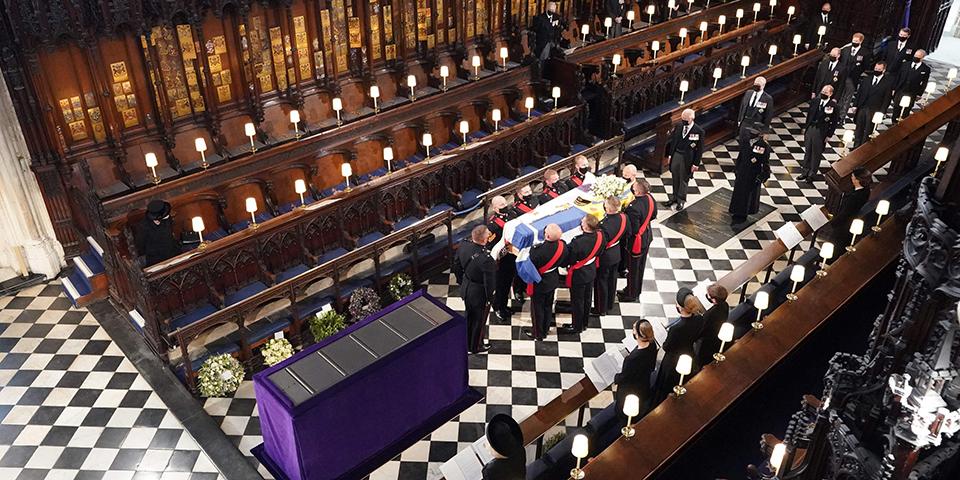 Begräbnis von Prinz Philip