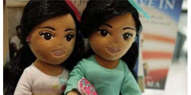 Michelle Obama empört über Sasha- und Malia-Puppen